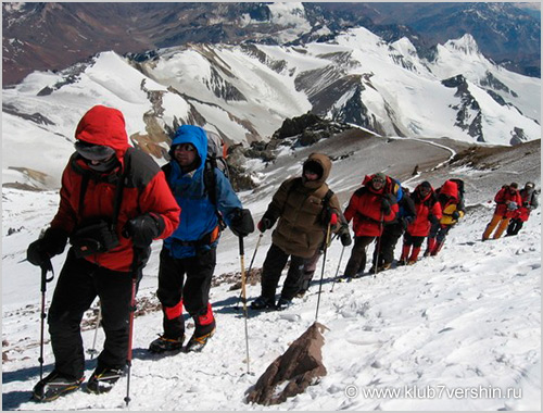 Argentina: Expedition to Cerro Aconcagua (6962 m)