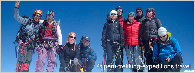 Peru: Trekking Santa Cruz and Climbing Nevado Pisco (5752 m)